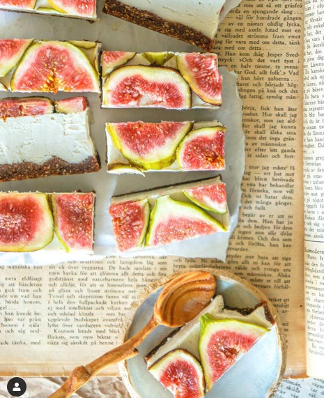 vegansk cheesecake recept med fikon healtyholisticview