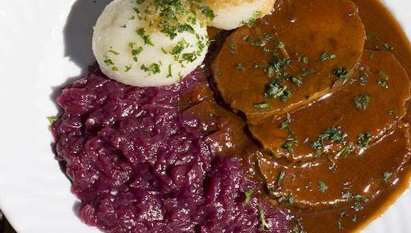 Mat i Tyskland